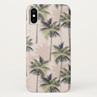 Capa Para iPhone X Paraíso da palmeira