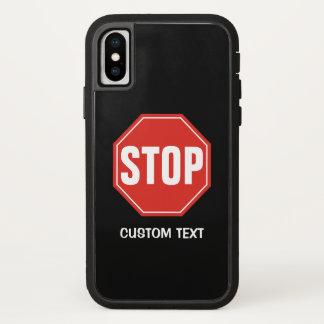 Capa Para iPhone X PARE o sinal