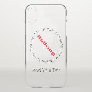 Capa Para iPhone X Pare o Tiranizar-Esboço por Shirley Taylor