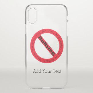 Capa Para iPhone X Pare o Tiranizar-Logotipo por Shirley Taylor