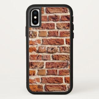 Capa Para iPhone X Parede de tijolo da construção dos homens