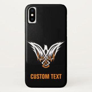 Capa Para iPhone X Pássaro celta