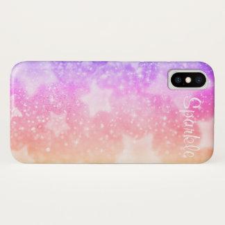 Capa Para iPhone X Pastels da faísca