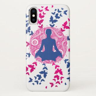 Capa Para iPhone X paz de espírito positiva da energia da meditação