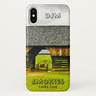 Capa Para iPhone X Personalize a fotografia do celeiro do modilhão da