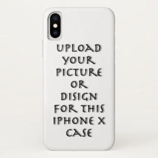 Capa Para iPhone X Personalize com imagem ou design