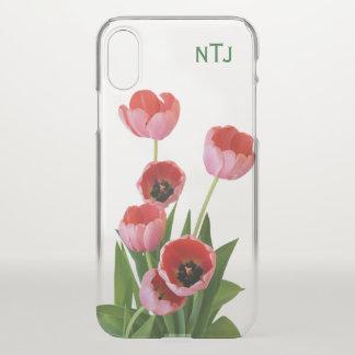 Capa Para iPhone X Personalize:  Pique a fotografia floral das