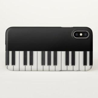 Capa Para iPhone X Piano