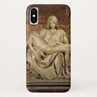 Capa Para iPhone X Pieta por Michelangelo