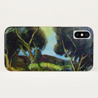 Capa Para iPhone X PINEWOOD na paisagem de TOSCÂNIA
