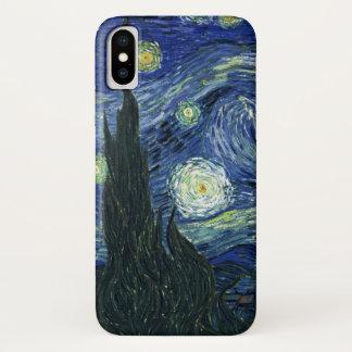Capa Para iPhone X Pintura das belas artes de Vincent van Gogh da