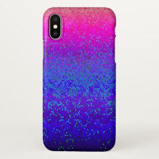 Capa Para iPhone X poeira de estrela do brilho do caso do iPhone X