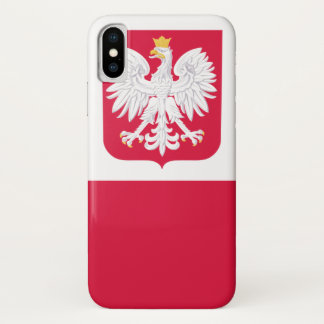Capa Para iPhone X Polônia
