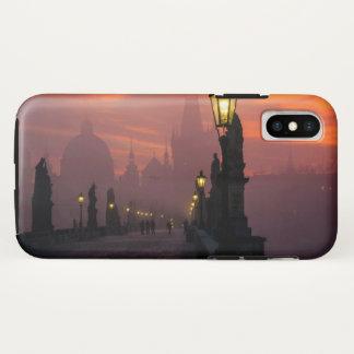 Capa Para iPhone X Ponte Praga de Charles