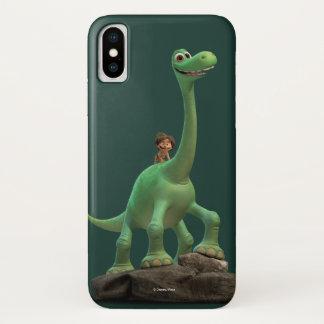 Capa Para iPhone X Ponto e Arlo na rocha
