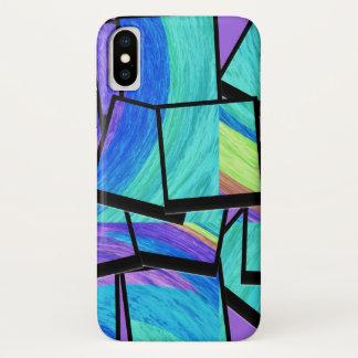 Capa Para iPhone X Pop art moderno do cubism