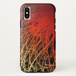 Capa Para iPhone X Por do sol linear da explosão - iPhone X de Apple