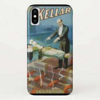 Capa Para iPhone X Poster mágico do vintage, mágico Harry Kellar