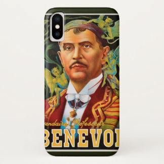 Capa Para iPhone X Poster mágico do vintage, professor legendário