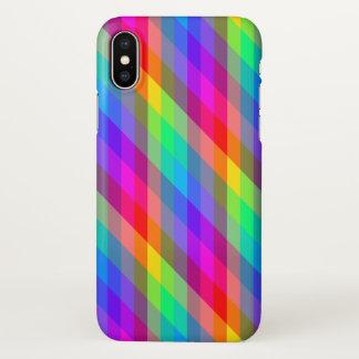 Capa Para iPhone X Prisma do arco-íris