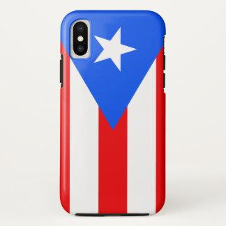 Capa Para iPhone X Puerto Rico