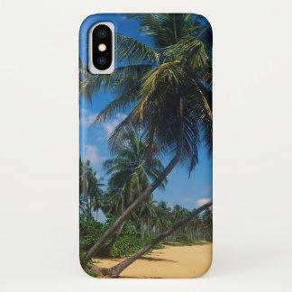 Capa Para iPhone X Puerto Rico, Isla Verde, palmeiras