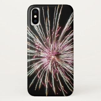 Capa Para iPhone X Quarto de fogos-de-artifício de julho