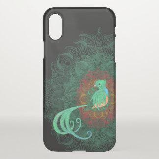 Capa Para iPhone X Quetzal encaracolado