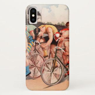 Capa Para iPhone X Raça de bicicleta
