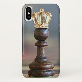Capa Para iPhone X Rainha da xadrez