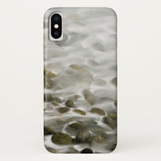 Capa Para iPhone X Reserva de pedra do estado de Lobos do ponto da