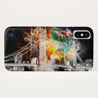 Capa Para iPhone X Respire outra vez sonhos de Londres