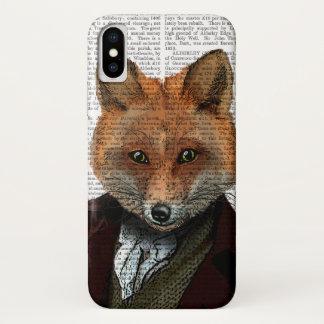 Capa Para iPhone X Retrato 2 do Fox