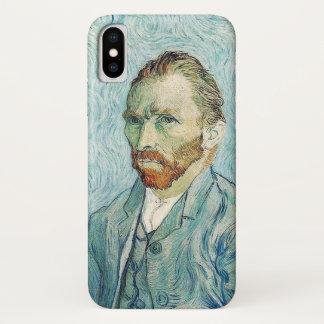 Capa Para iPhone X Retrato de auto de Van Gogh
