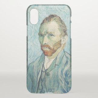 Capa Para iPhone X Retrato de auto de Vincent van Gogh