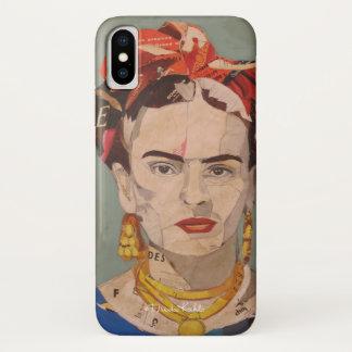 Capa Para iPhone X Retrato do en Coyoacán de Frida Kahlo