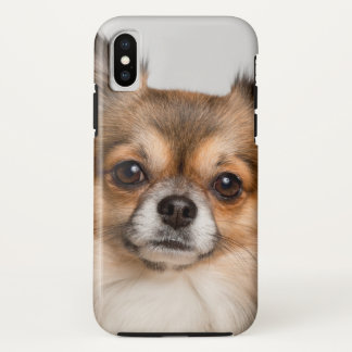 Capa Para iPhone X Retrato impressionante da chihuahua