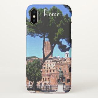 Capa Para iPhone X Roma Italia