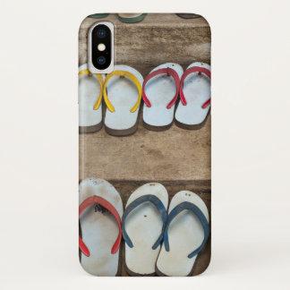 Capa Para iPhone X Sandálias do falhanço de sacudir