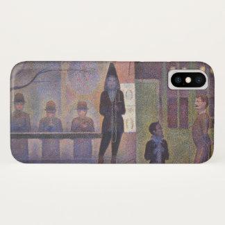 Capa Para iPhone X Secundário de circo por Georges Seurat, arte do