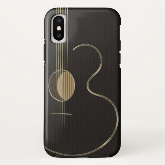 Capa Para iPhone X Seis guitarra acústicas da corda