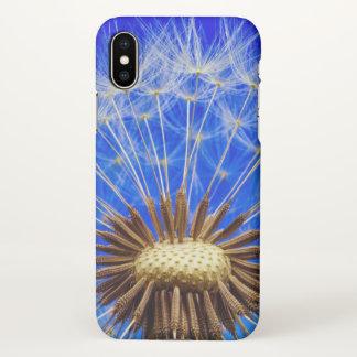Capa Para iPhone X Semente do dente-de-leão