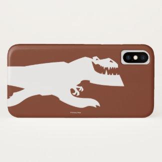 Capa Para iPhone X Silhueta da macha