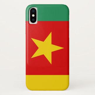 Capa Para iPhone X Símbolo da bandeira de país de República dos