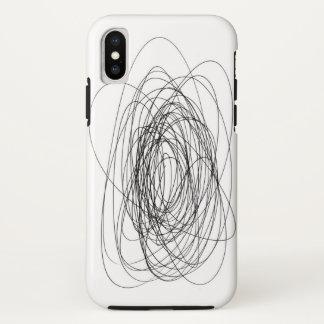 Capa Para iPhone X smea handmade do daub do borrão da mancha do