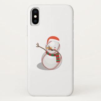 Capa Para iPhone X Solha engraçada de toque ligeiro do Natal do