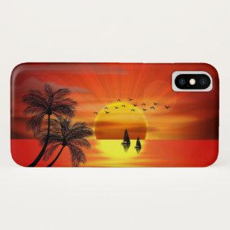 Capa Para iPhone X Sonho do por do sol