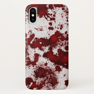 Capa Para iPhone X Splatter do sangue de Falln