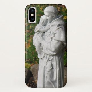 Capa Para iPhone X St Anthony com caso do iPhone X da criança do