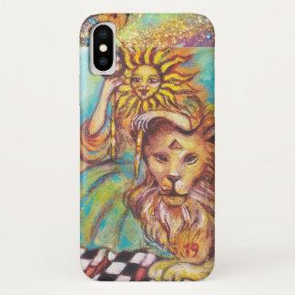 CAPA PARA iPhone X  TAROTS DAS SOMBRAS PERDIDAS/THE SUN